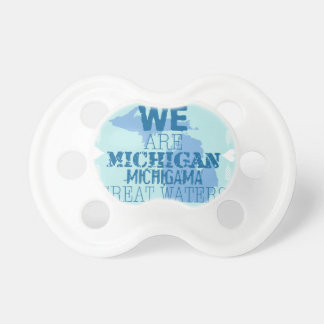 Tribal Michigan Michigama Great Waters Up North Pacifier