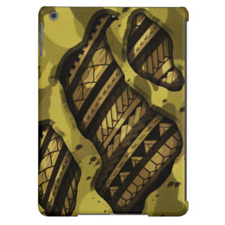 Tribal military camouflage tattoo design iPad air cases