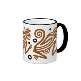 Tribal Monkey Mug