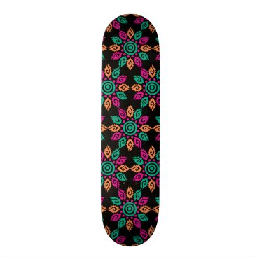 Aztec Themed Tribal Moroccan Skateboard