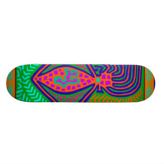 Tribal Mother of the World Skateboard
