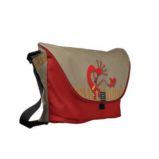Tribal Musician Rickshaw Messenger Bag