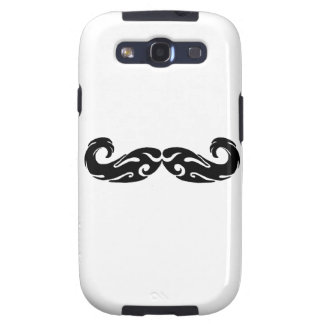 Tribal Mustache Galaxy S3 Cases