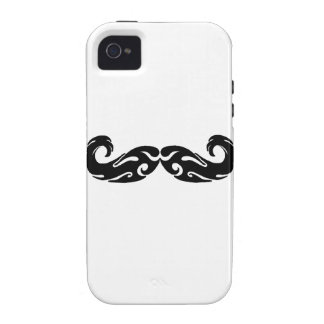 Tribal Mustache iPhone 4 Cover