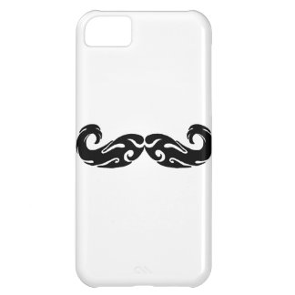 Tribal Mustache Case For iPhone 5C
