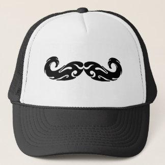 Tribal Mustache Trucker Hat