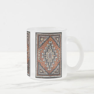 Tribal Native American Earth Tones Mosaic Coffee Mugs