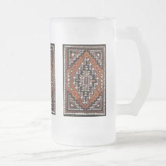 Tribal Native American Earth Tones Mosaic Mugs