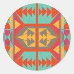 Tribal nativo neo etiqueta