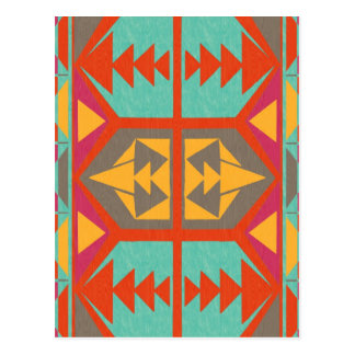 Tribal nativo neo postal