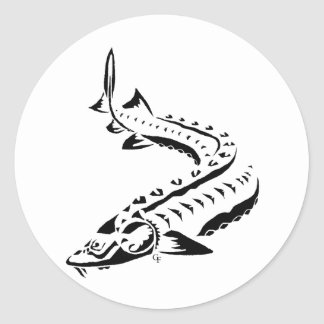 Tribal NEW Classic Round Sticker