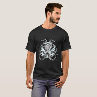 Tribal Octopus Design T-Shirt