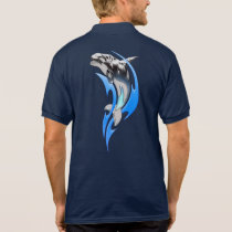 Tribal Orca Polo Shirt