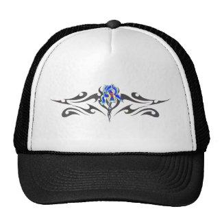 Tribal orchid-2 trucker hat