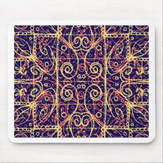 Tribal Ornate Pattern Mouse Pad