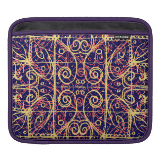 Tribal Ornate Pattern Sleeve For iPads