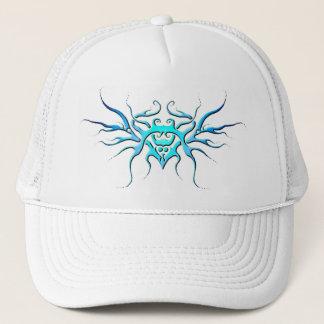 Tribal Owl - blue Trucker Hat