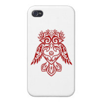 Tribal Owl Case For iPhone 4