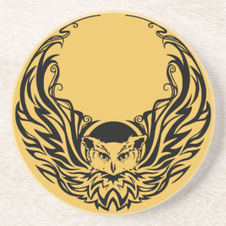Tribal Owl Coaster