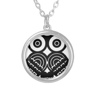 Tribal owl design necklaces
