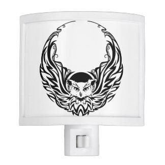 Tribal Owl Night Lite