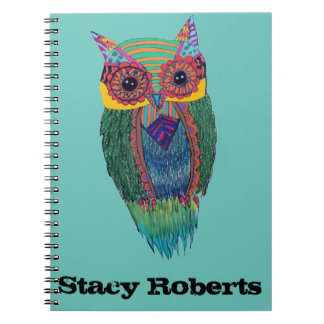 Tribal Owl Notebook