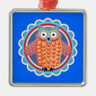 Tribal Owl Ornaments