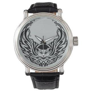 Tribal Owl Wrist Watch