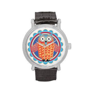 Tribal Owl Wristwatches