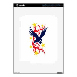 TRIBAL PATRIOTIC iPad 3 DECAL