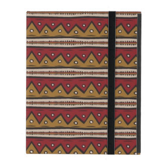 Tribal pattern iPad cover