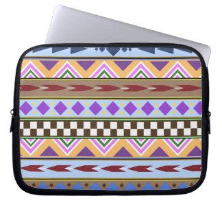 Tribal Pattern Laptop Computer Sleeves