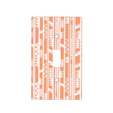 Beach Themed Tribal Pattern Light Switch Cover