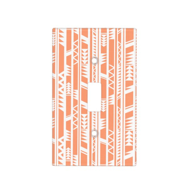 Tribal Pattern Light Switch Cover
