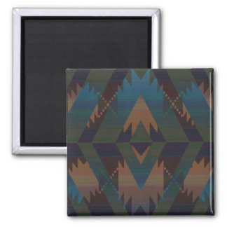 Tribal Pattern Magnet
