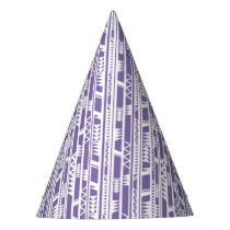 Tribal Pattern Party Hat