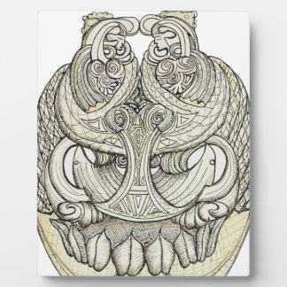 tribal pattern.png photo plaque
