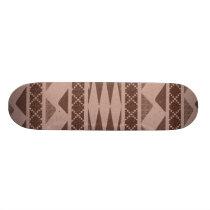 Tribal Pattern Skateboard