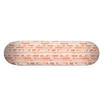 Tribal Pattern Skateboard Deck