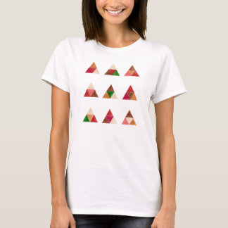 Tribal Pattern Triangles Hipster Graphic Art Tee