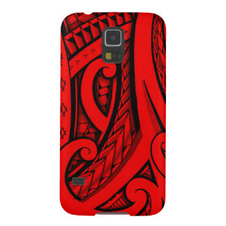 tribal patterns and shapes Polynesian style design Galaxy S5 Case