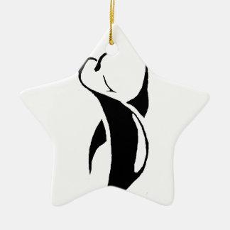 Tribal Penguin Christmas Ornaments