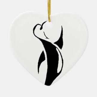 Tribal Penguin Ornament
