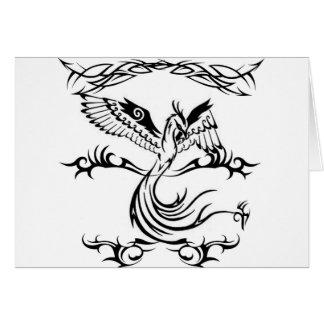 Tribal Pheonix Card