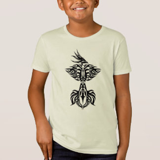 Tribal phoenix 1 black T-Shirt