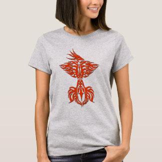 Tribal phoenix 1 orange T-Shirt