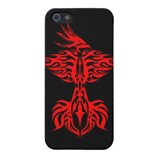 Tribal phoenix 1 red cover for iPhone SE/5/5s