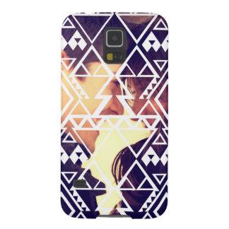 Tribal Photo Cutout Design Galaxy S5 Cover