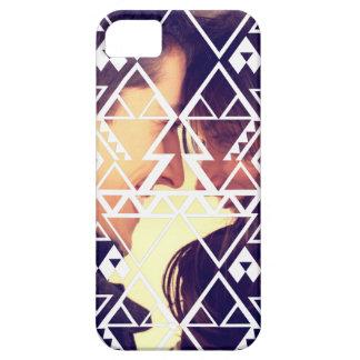 Tribal Photo Cutout Design iPhone SE/5/5s Case