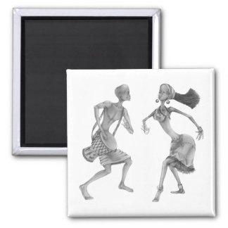 Tribal PickUP Gifts 2 Inch Square Magnet